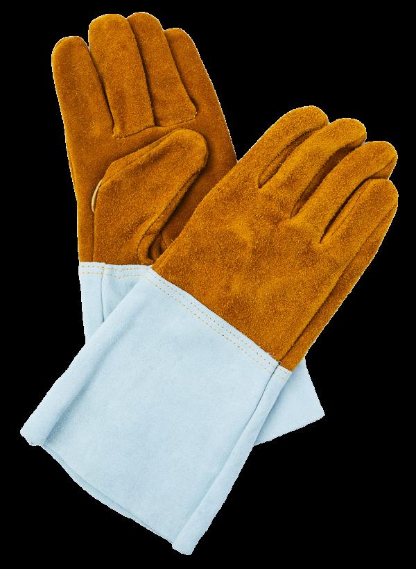 本皮溶接用裏出し手袋(5本指)